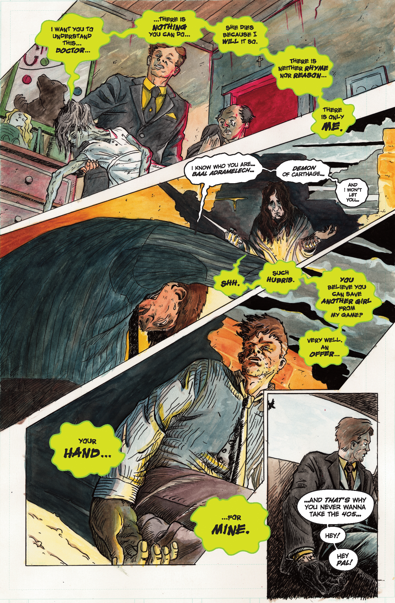 The Demoniac of Los Angeles - Page 1